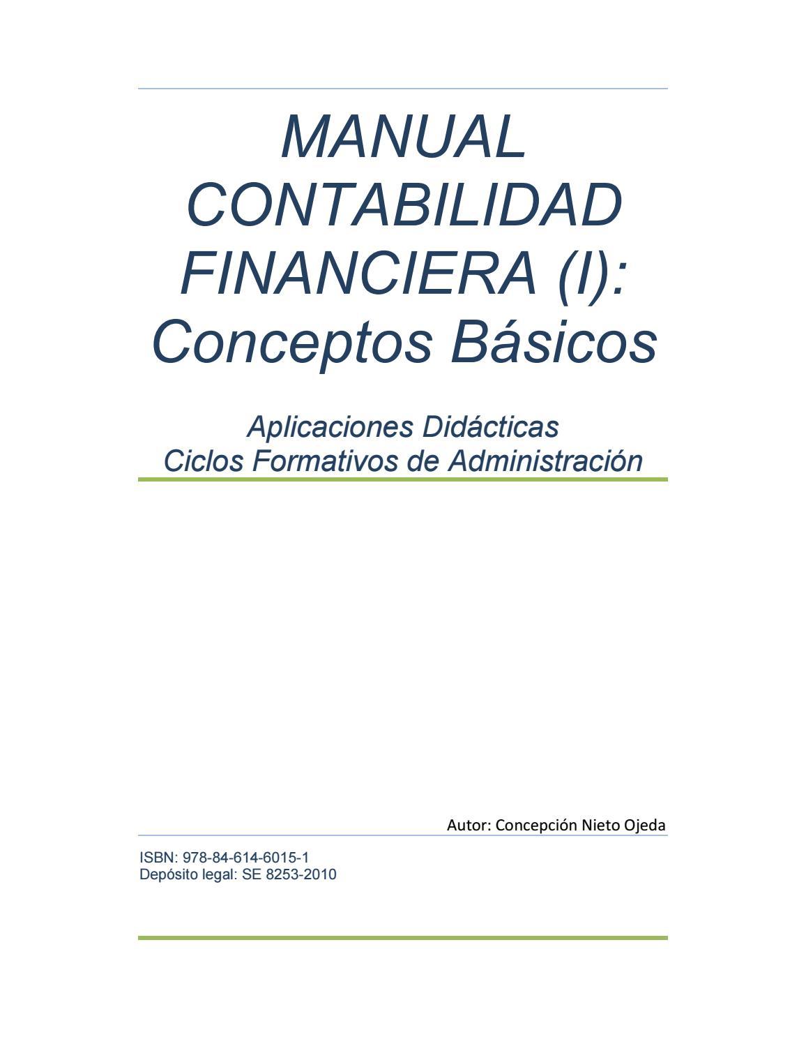 Manual de contabilidad financiera by Adeprin - issuu