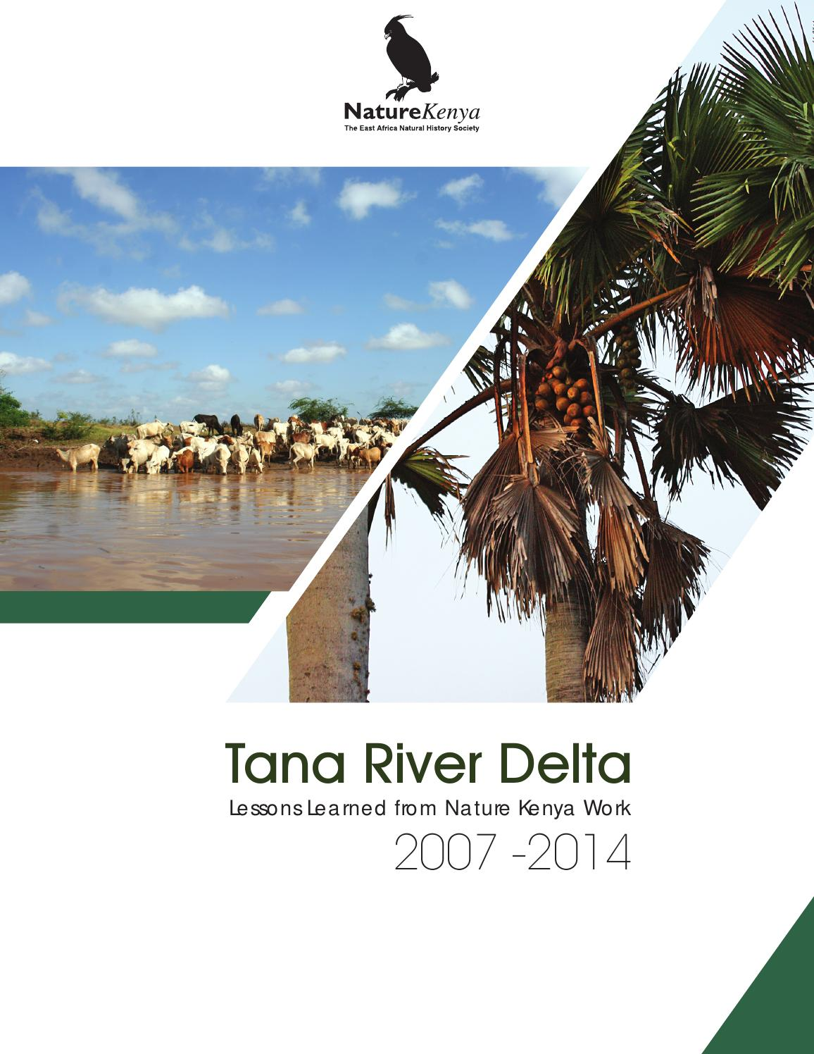 Tana River Delta: Lessons Learned from Nature Kenya Work