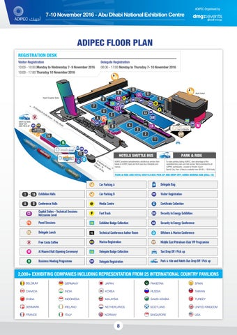 Adipec Exhibitor Show Planner 2016 Oct 8 By Adipec Issuu