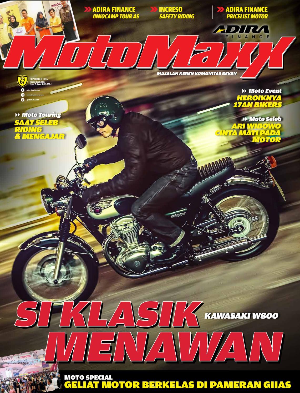 Motomaxx 09 2016 By Adira Member Issuu New Beat Street Esp White Salatiga