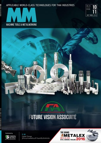 MM Machine Tools & Metalworking : October-November 2016 ISSUE by