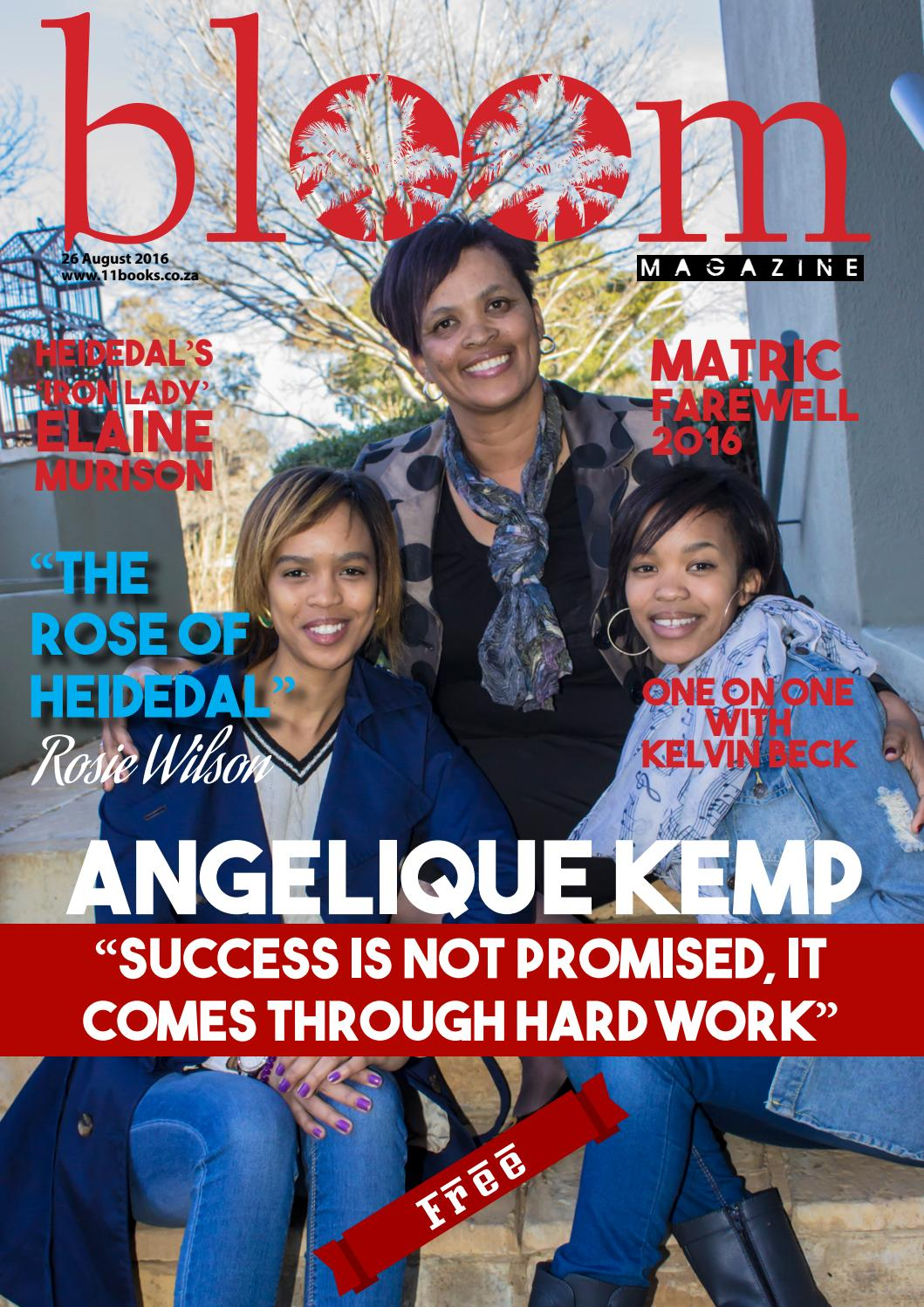 Picture Yourself on the Cover of Bloom Magazine!   United
