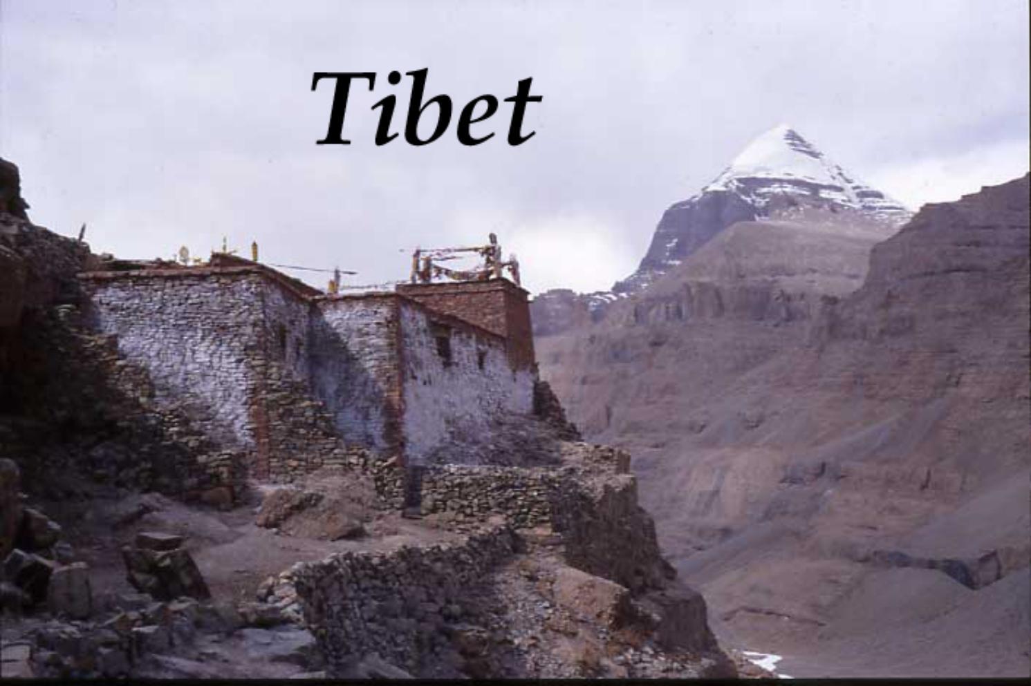Kinesiskt karnavfall i tibet