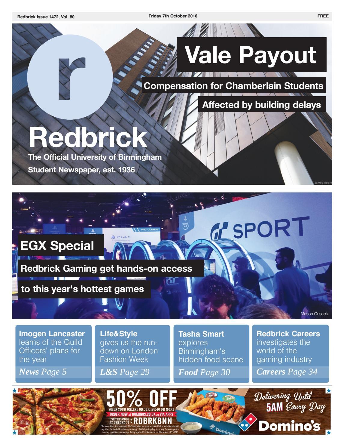 Redbrick - Issue 1472 by Redbrick - issuu