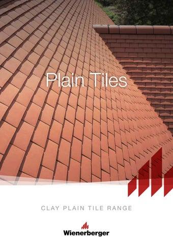 Clay Plain Tile Range Brochure By Wienerberger Ag Issuu
