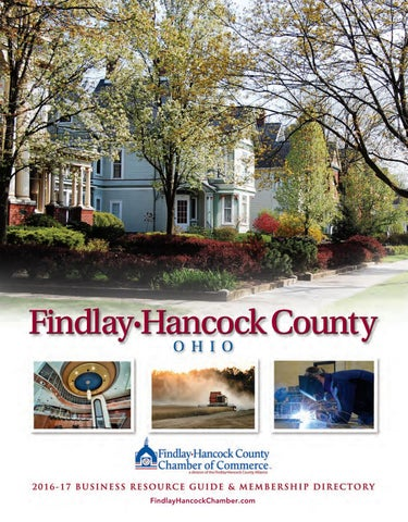 Findlay Hancock County Chamber Guide By Town Square Publications