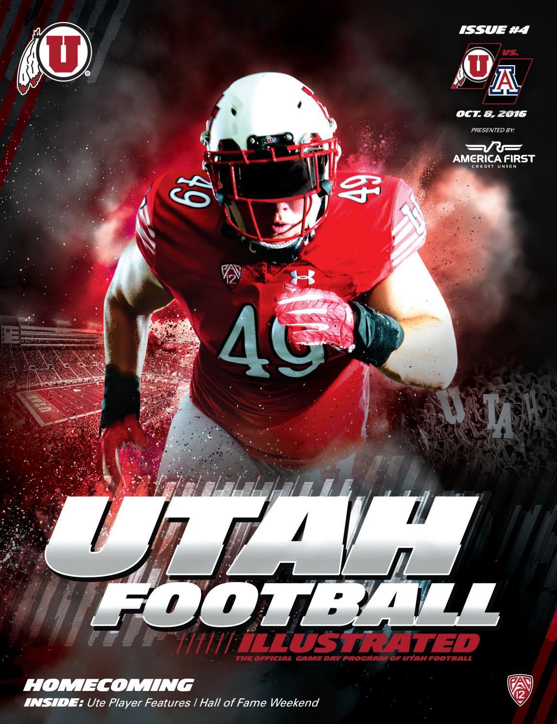 Utah Football Vs Arizona By Mills Publishing Sports Issuu