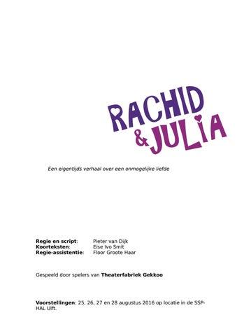 Verslag Rachid En Julia By Tf Gekkoo Issuu