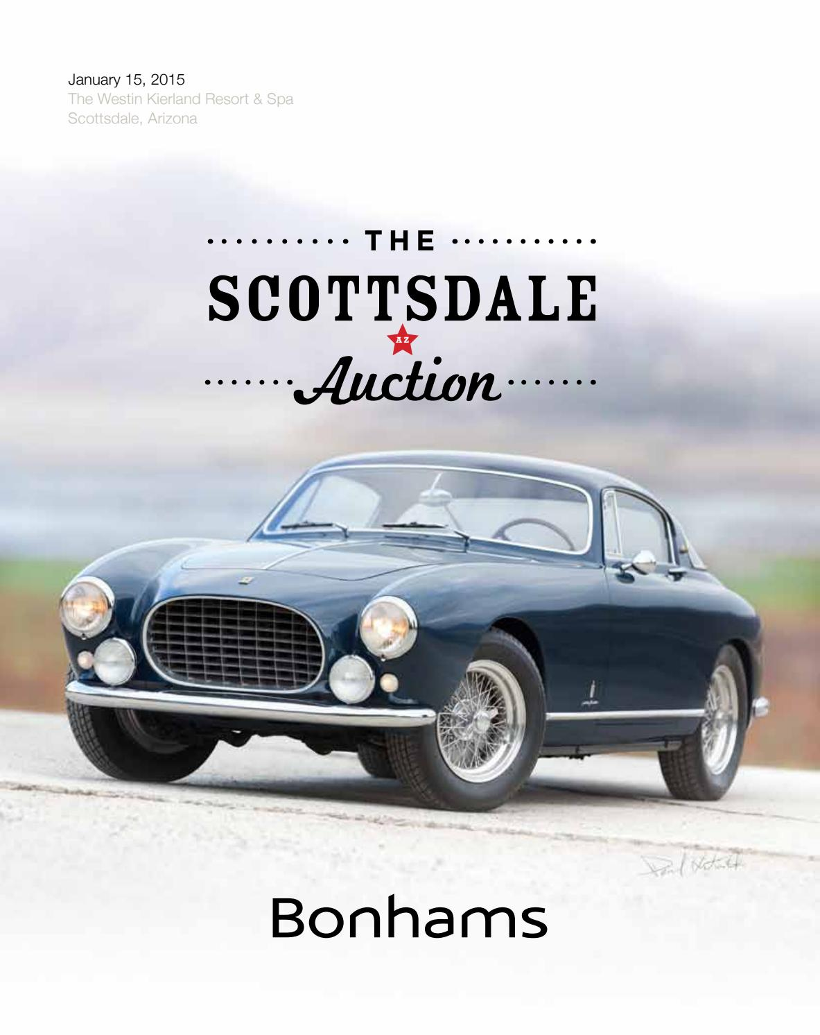 The Scottsdale Auction Jan 15 2015 By Guido Maraspin Issuu