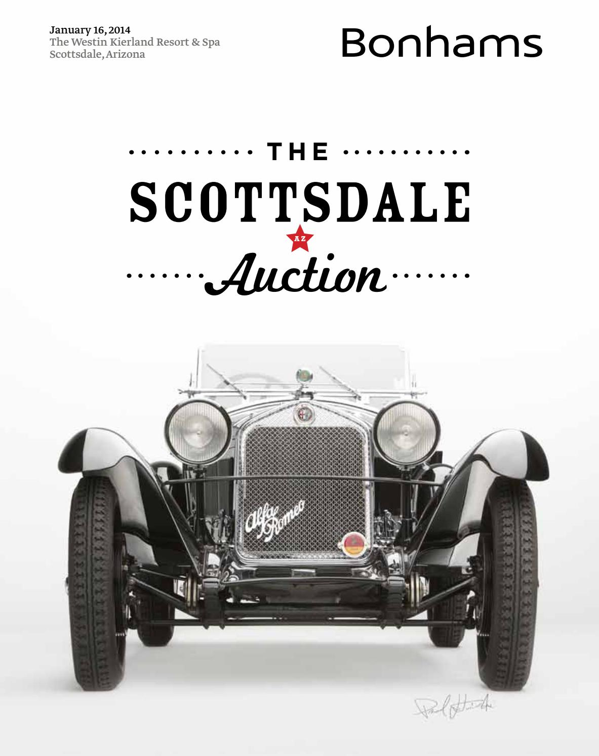 The Scottsdale Auction Jan 16 2014 by guido maraspin issuu