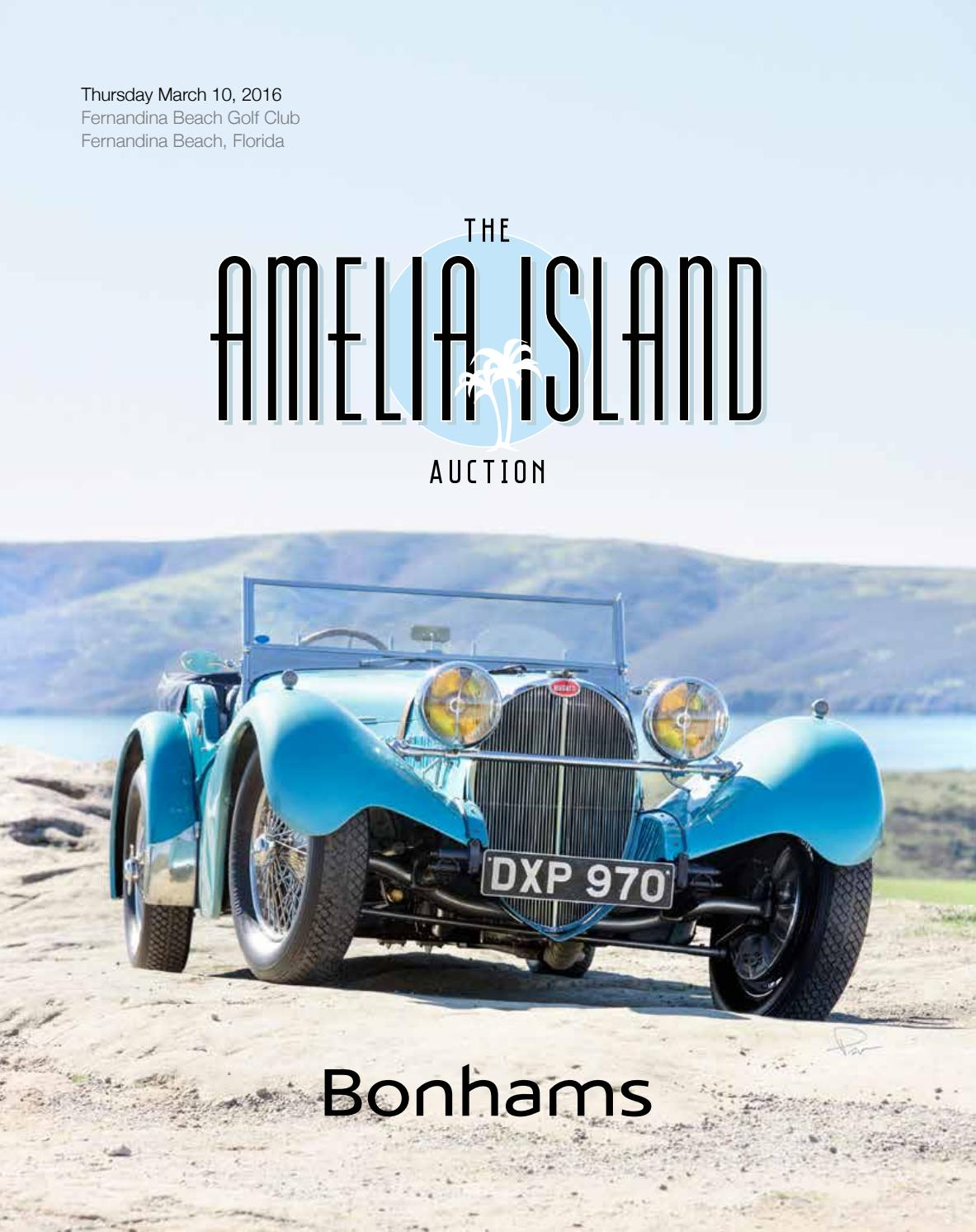 The Amelia Island Auction March 10 2016 By Guido Maraspin Issuu 1950 Pontiac Vin Decoder