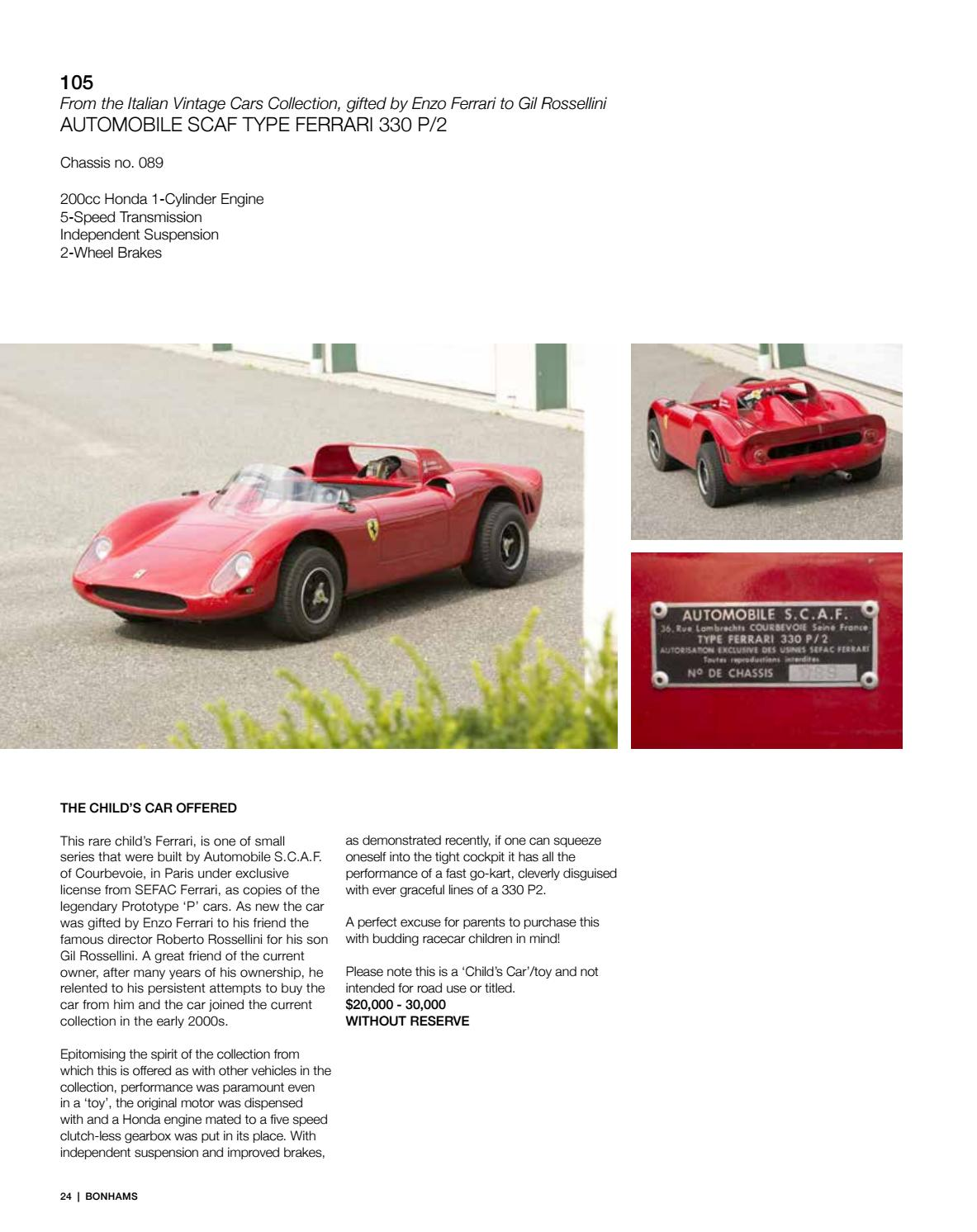 The Amelia Island Auction March 10 2016 By Guido Maraspin Issuu