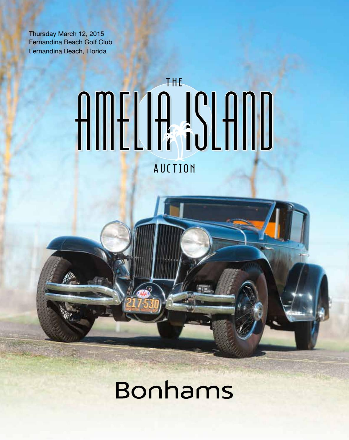 The Amelia Island Auction March 12 2015 By Guido Maraspin Issuu Diagram Automotive Electrical Symbols Lockheed F 104