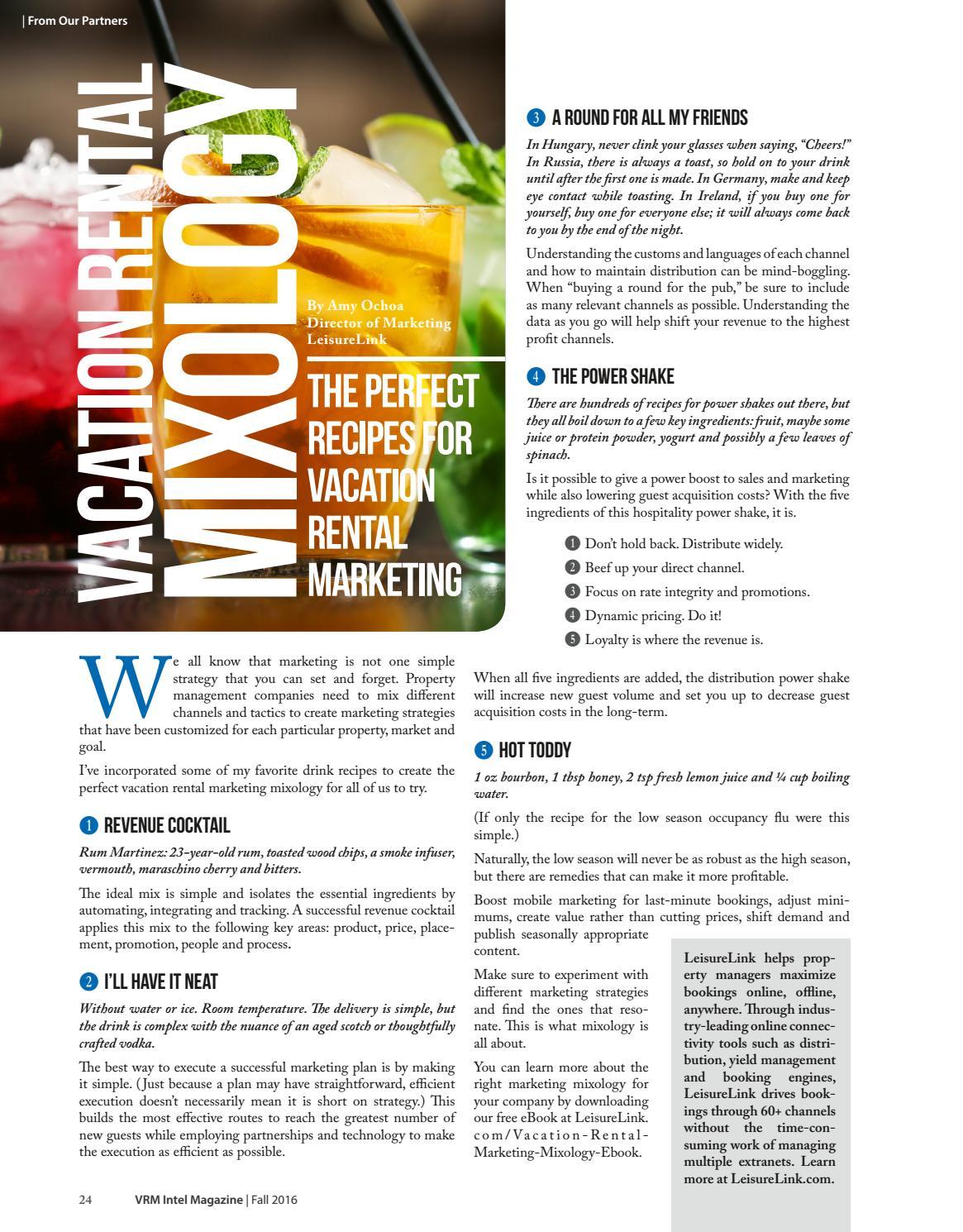 VRM Intel Magazine Fall 2016 by Amy Hinote - issuu