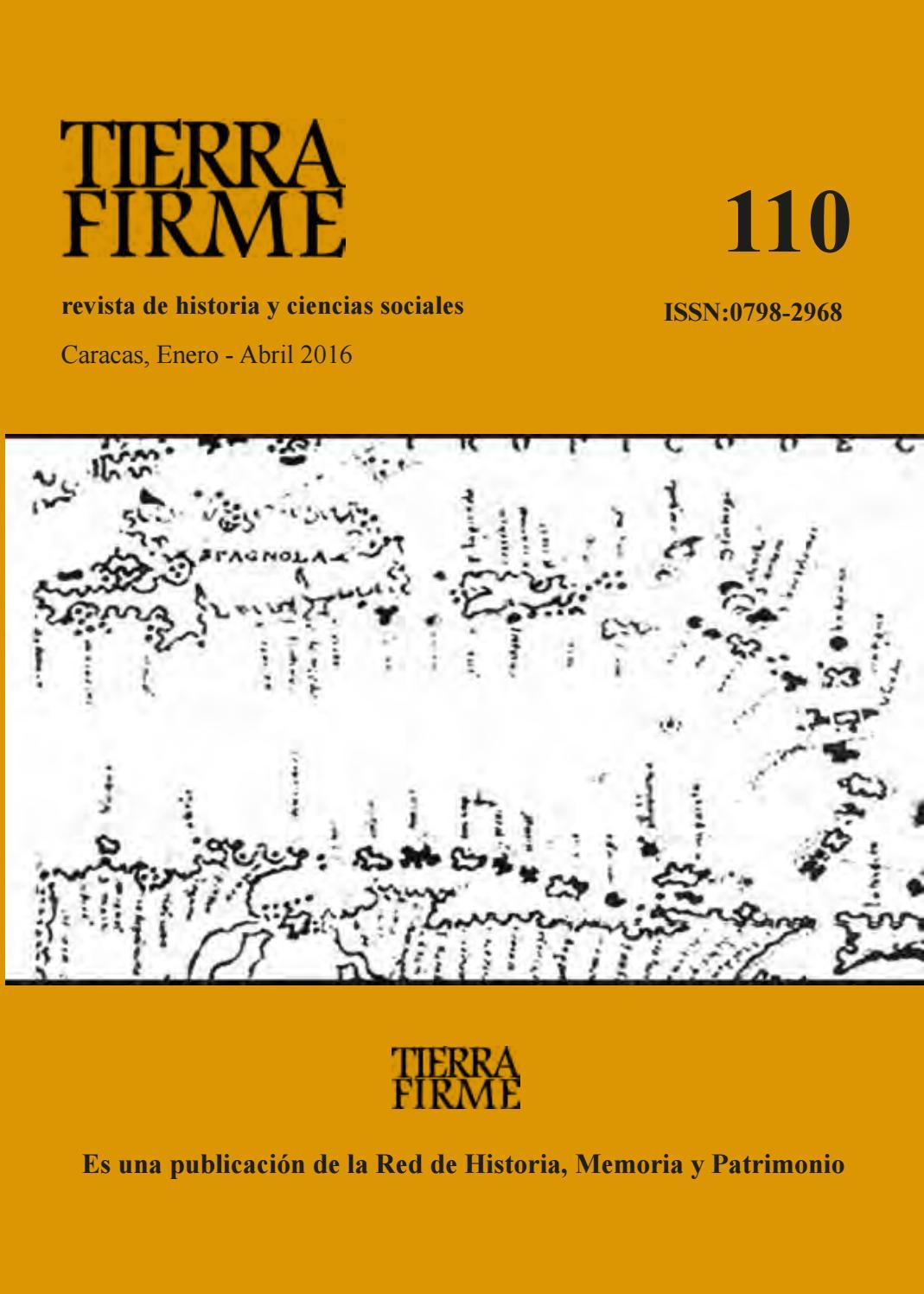 Revista Tierra Firme 110 by Tierra Firme - Revista - issuu