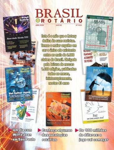 1030 - Brasil Rotário - Abril de 2008 by Revista Rotary Brasil - issuu a2e8140032428