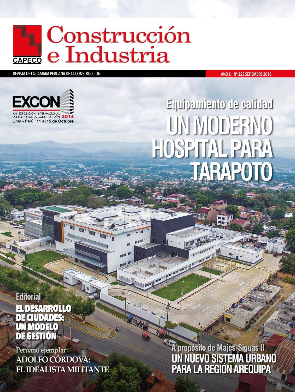 Revista Construcción e Industria Setiembre 2016 by Capeco - issuu 404040bca3f9