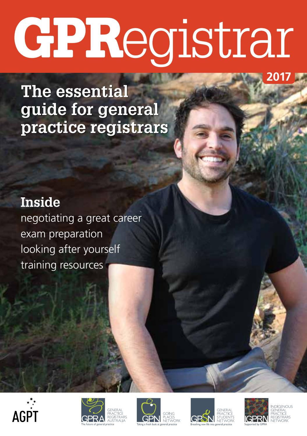 GP Registrar: The essential guide for general practice ...