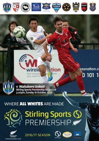 2016 17 Auckland City Fc V Waitakere United By Auckland City