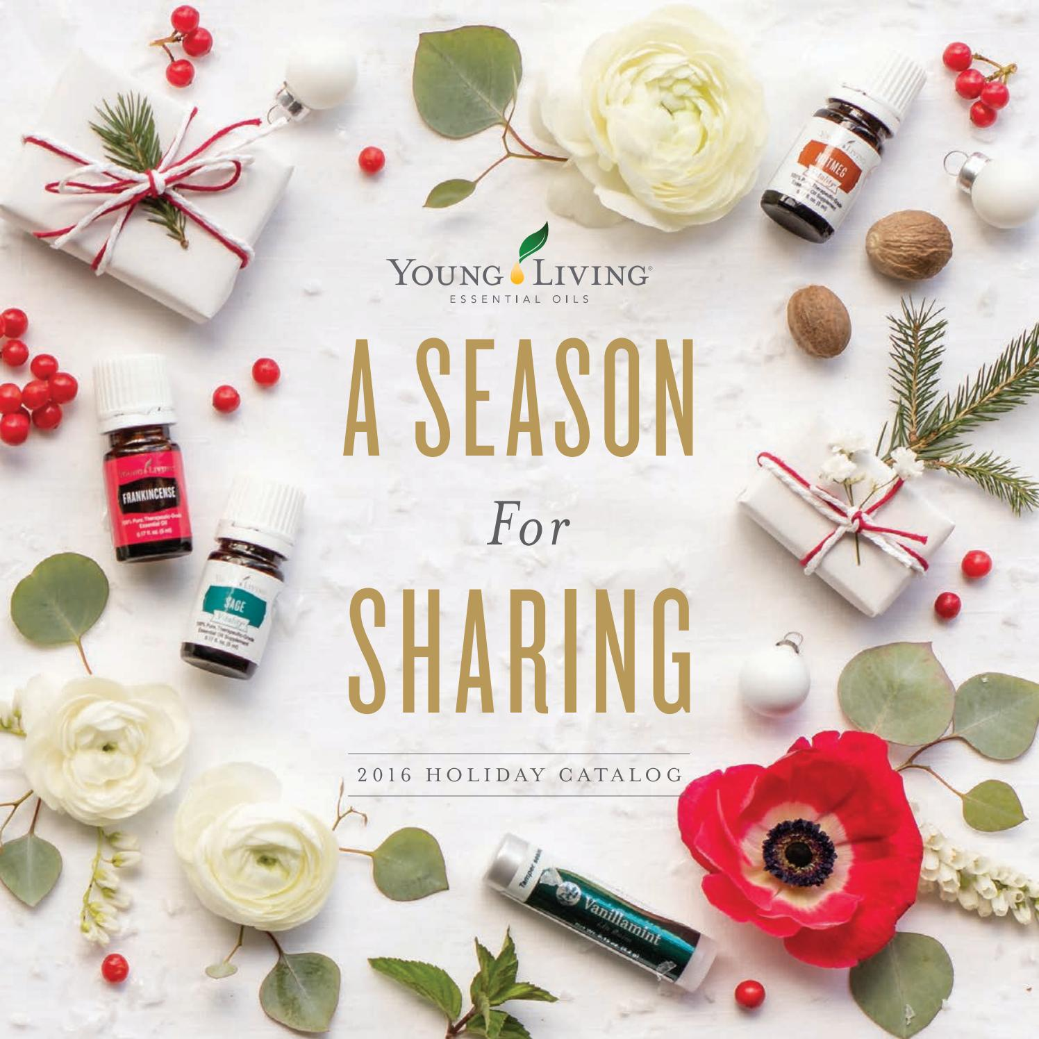 Holiday catalog by young living essential oils issuu