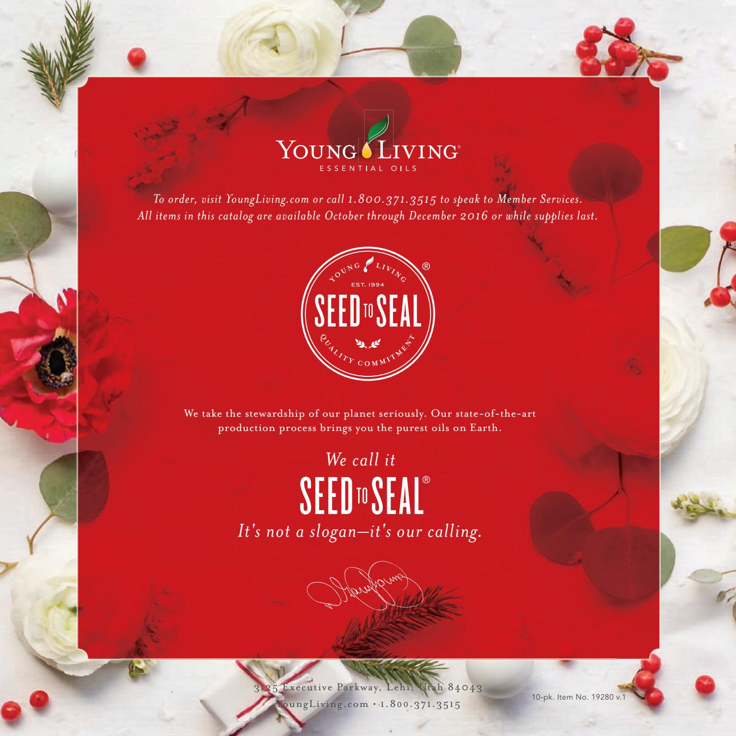 2016 Holiday Catalog by Young Living Essential Oils - issuu