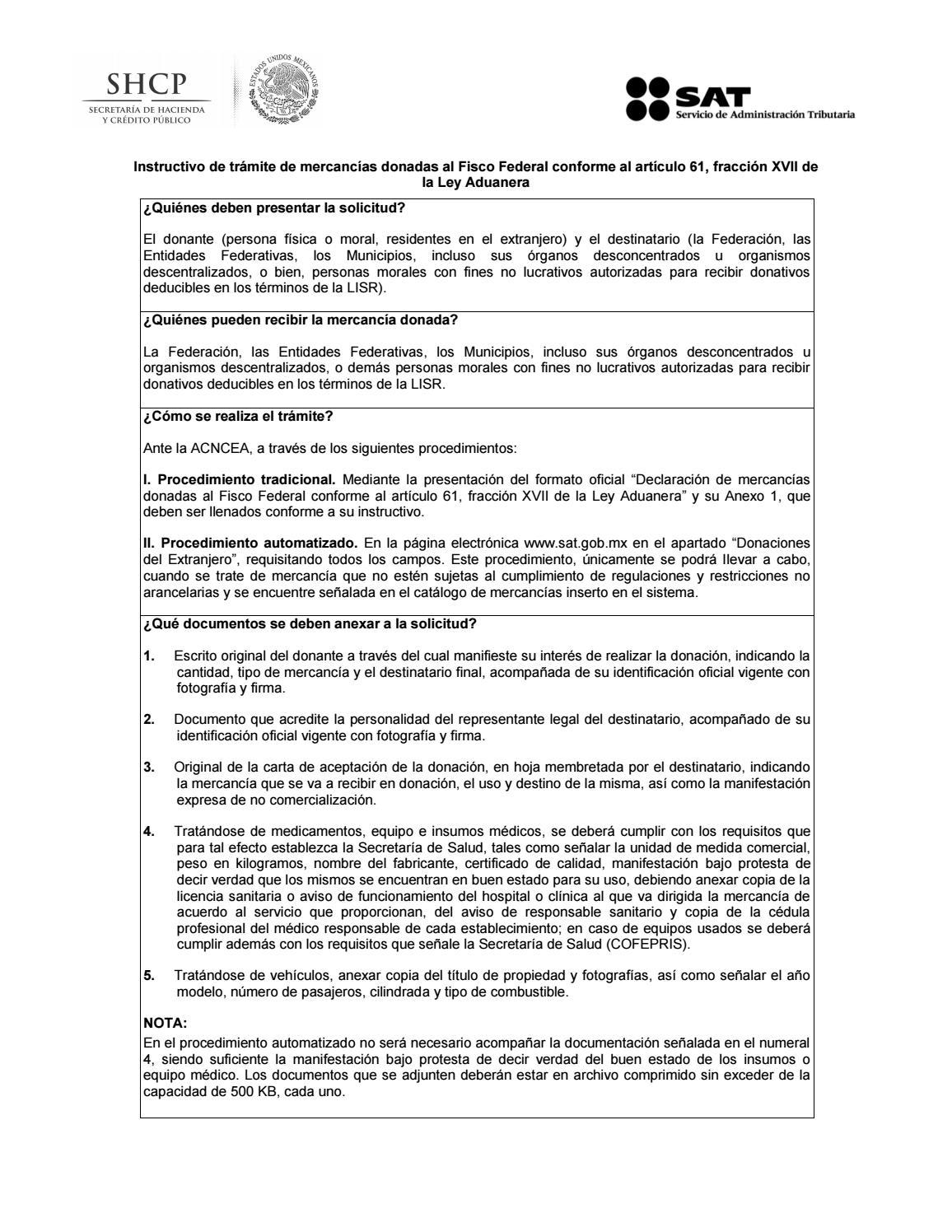 Anexo 1 De Las Reglas Generales De Comercio Exterior Para 2016 By Customs Trade Training Issuu