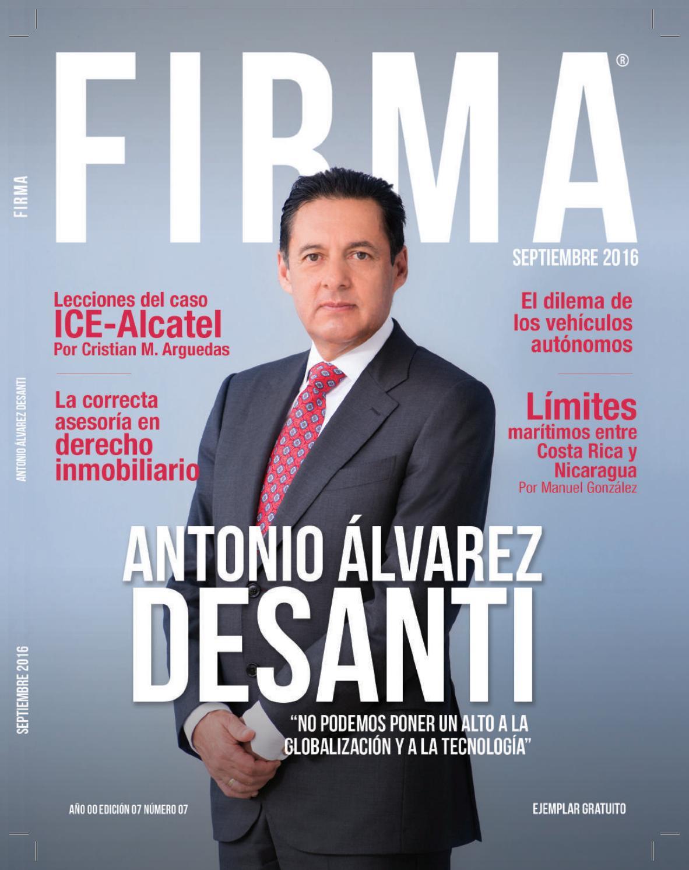FIRMA Setiembre by Revista FIRMA - issuu