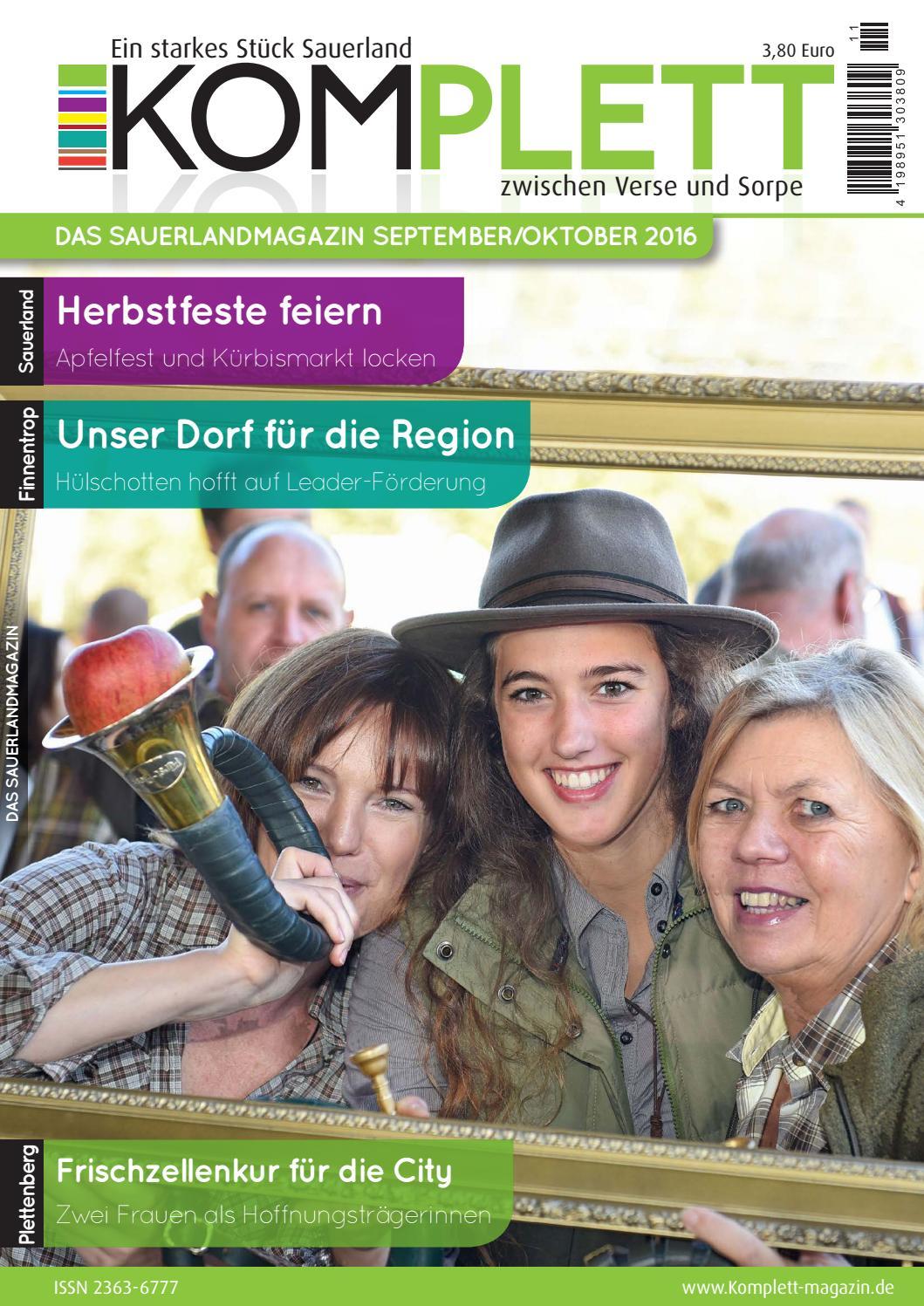 Komplett Das Sauerlandmagazin - die komplette Ausgabe September ...