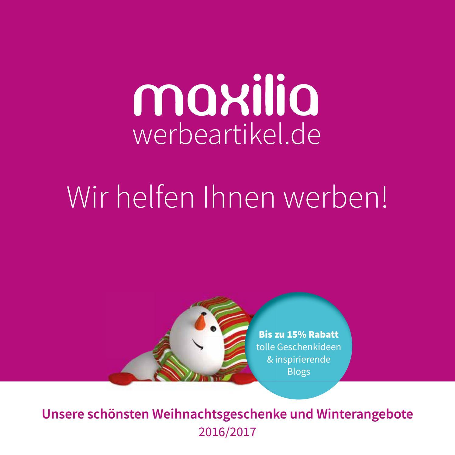 Maxilia winter katalog by Maxilia Werbeartikel GmbH - issuu