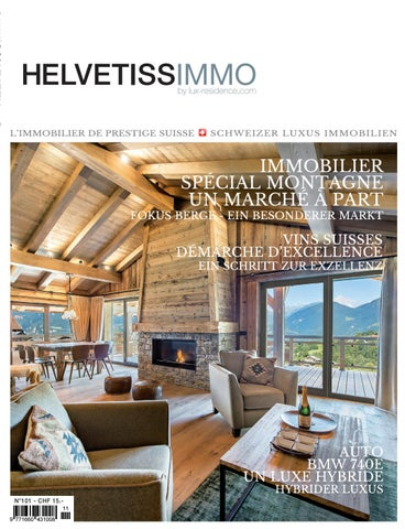 Helvetissimmo H101 (Octobre-Novembre 2016) by HELVETISSIMMO (Luxury ...