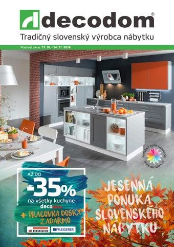 048c2949e Akciový leták Decodom by Decodom - Slovenský výrobca nábytku - issuu