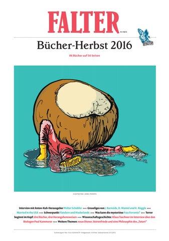Bucher Herbst 2016 By Falter Verlagsgesellschaft M B H Issuu