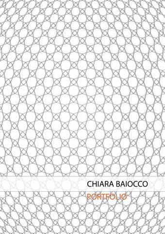 Portfolio Chiara Baiocco by Chiara Baiocco - issuu