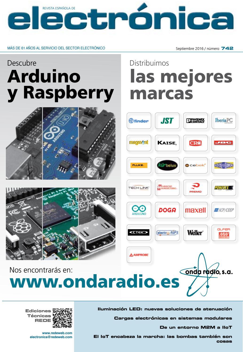 d7975ecb853 Revista española de electrónica - Septiembre 2016 by Monolitic - issuu