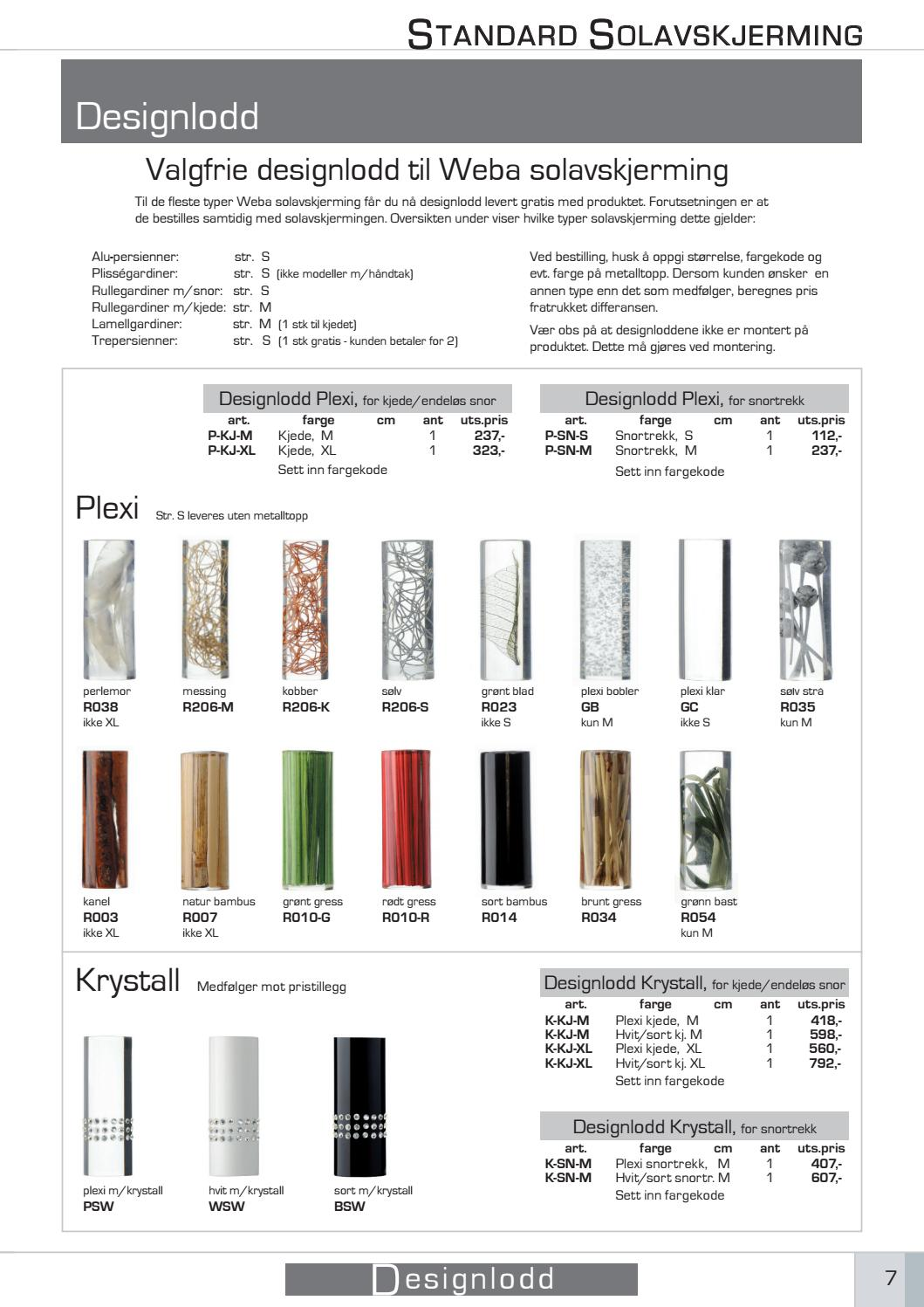 ae256df3 Standard Solavskjerming 2016 Katalog by Gasta design - issuu