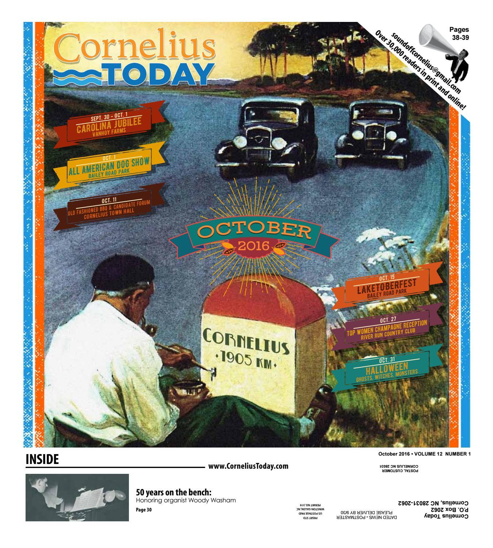 Cornelius Today October 2016 by Business Today Cornelius Today issuu