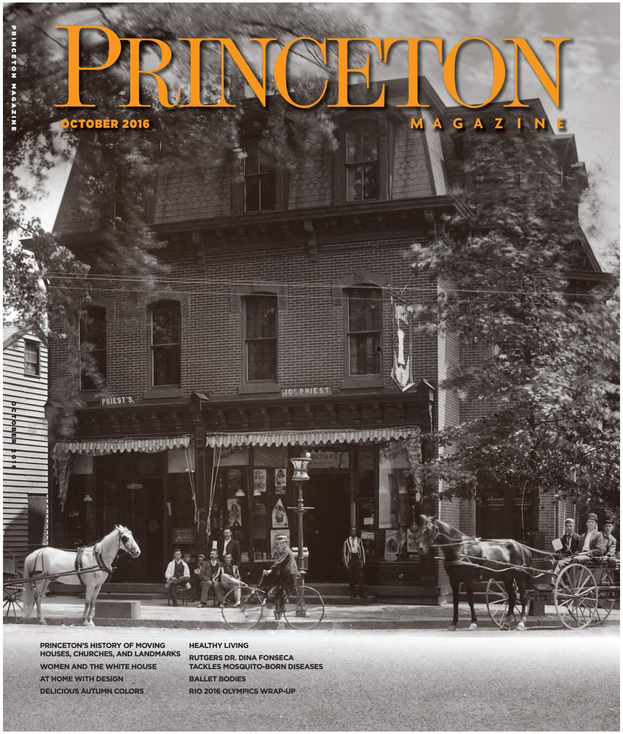 Princeton Magazine, October 2016 by Witherspoon Media Group