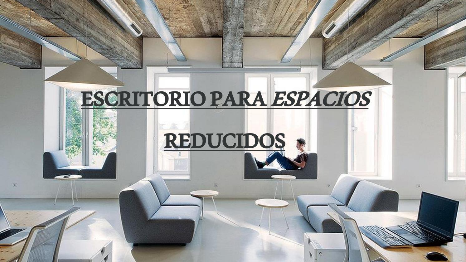 Escritorio para espacios reducidos by dise o industrial 3a issuu - Escritorios espacios pequenos ...