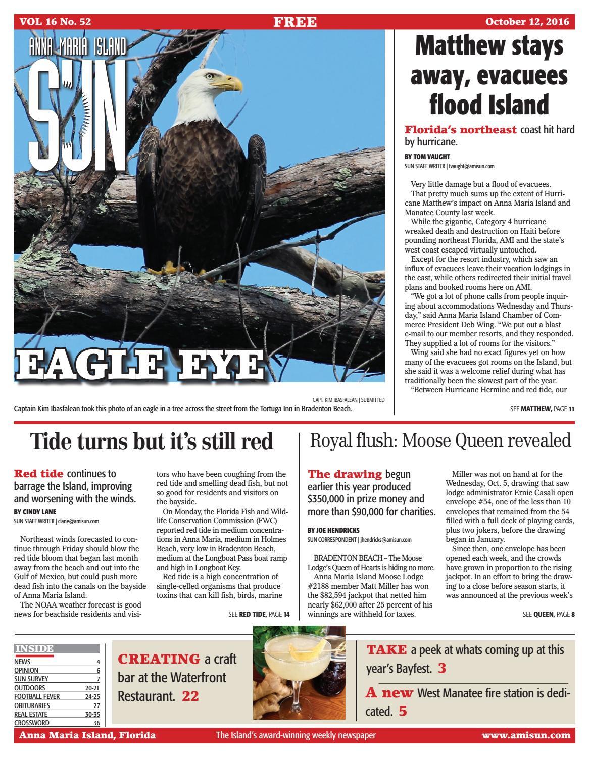 Anna Maria Island Sun October 12, 2016 by Anna Maria Island Sun - issuu