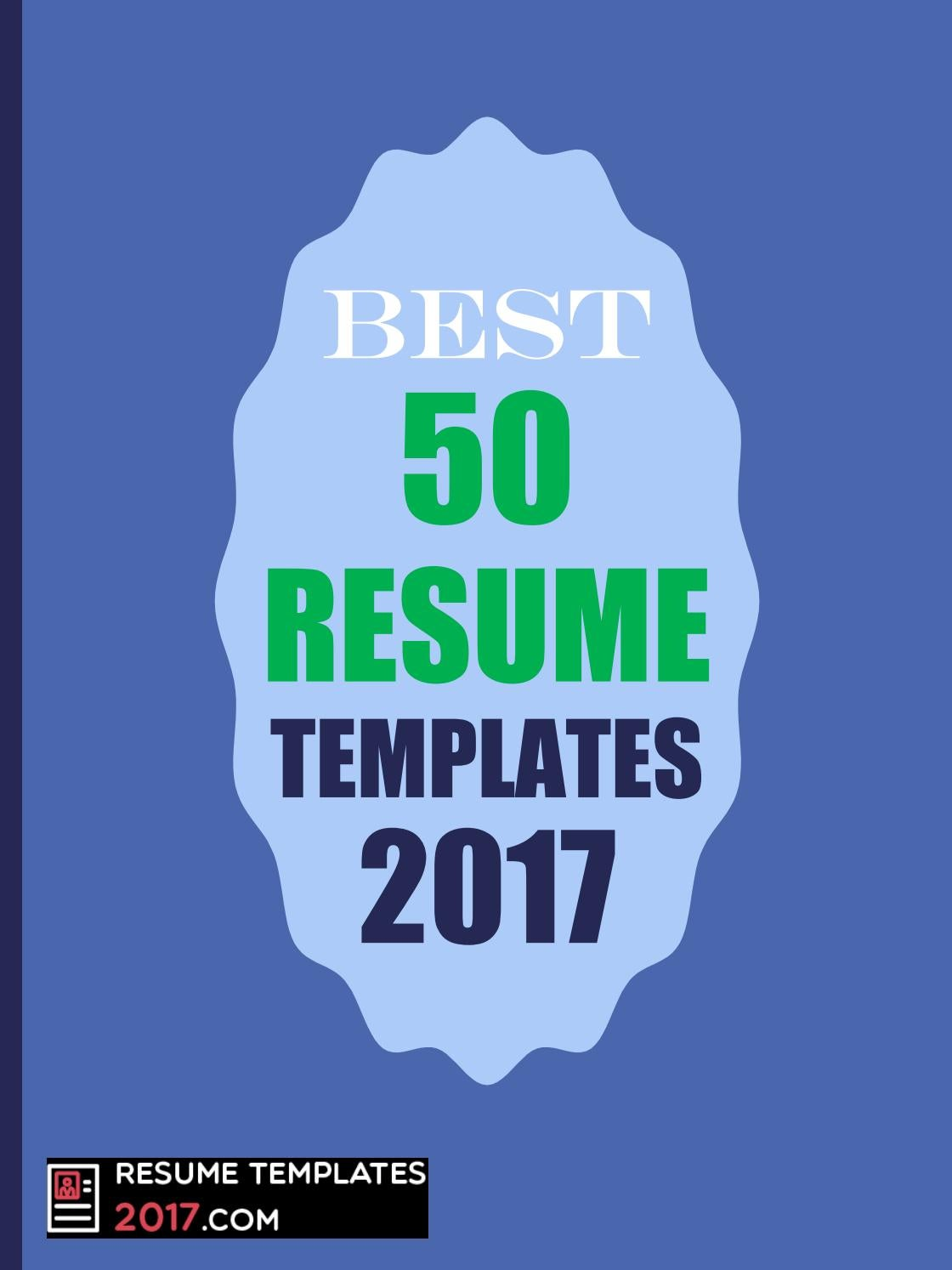 resume template best