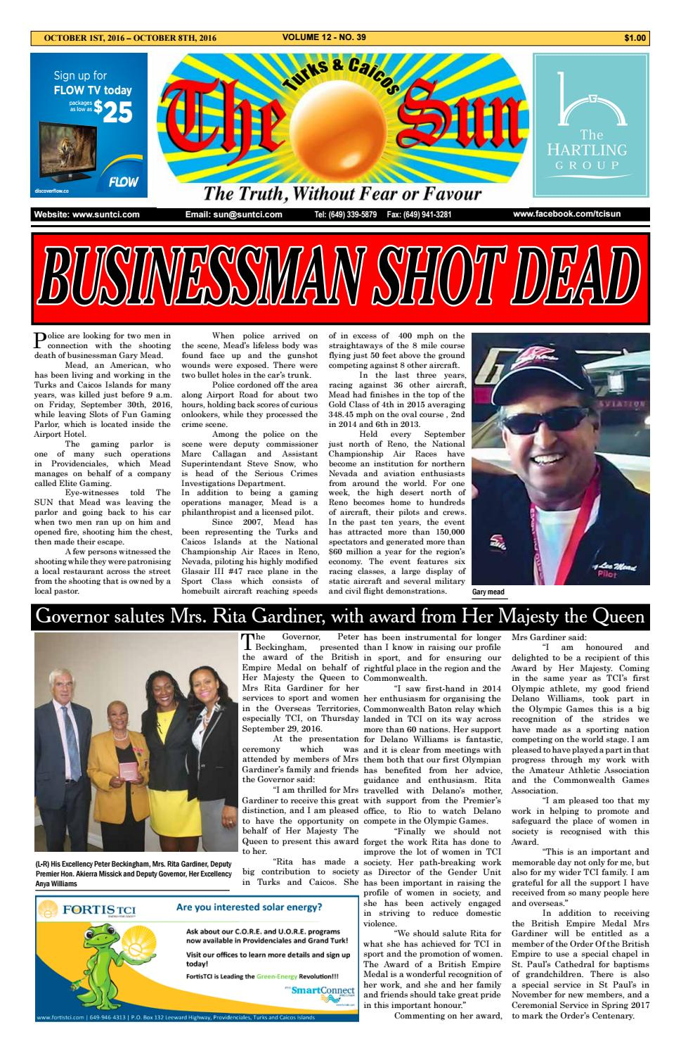 90c674d1491 VOLUME 12 ISSUE 39 by The SUN Newspaper - issuu