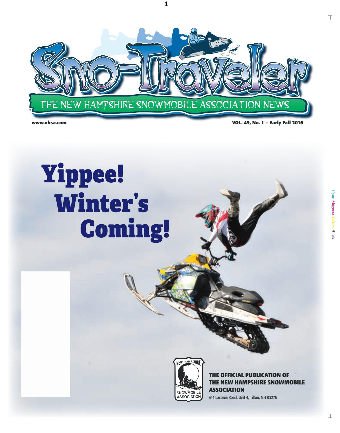 NHSA 2016 Early Fall Sno-Traveler by SnoTraveler - issuu