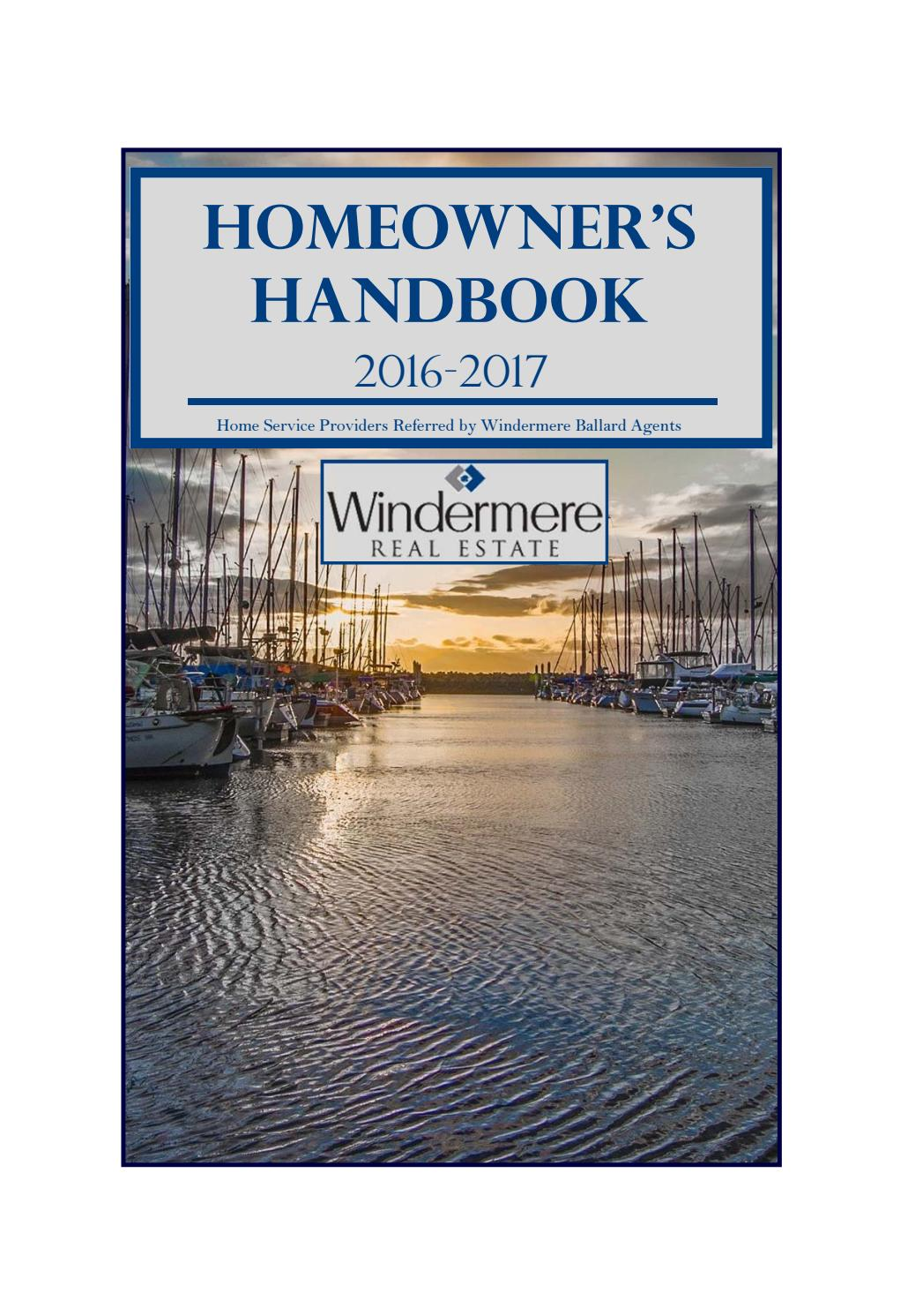 homeowner's handbook wre ballard 16-17anniedoyon - issuu
