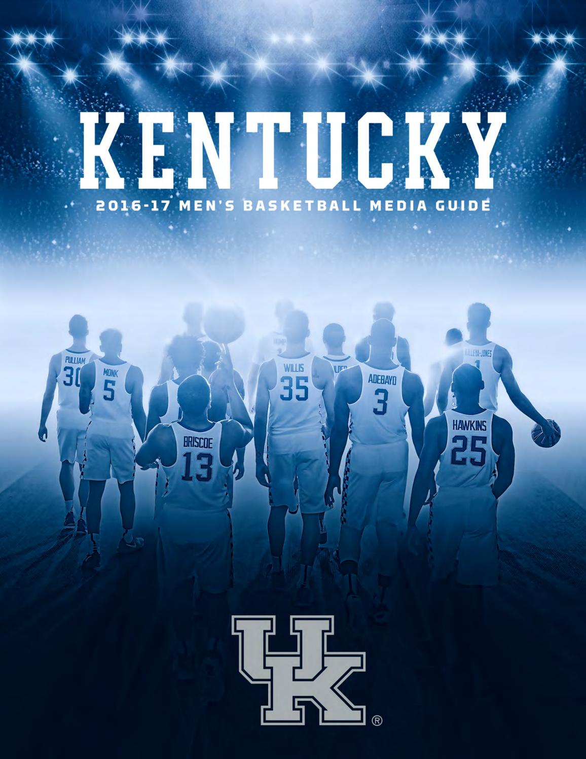 1617 Mbb Mediaguide Web Sm By University Of Kentucky Athletics