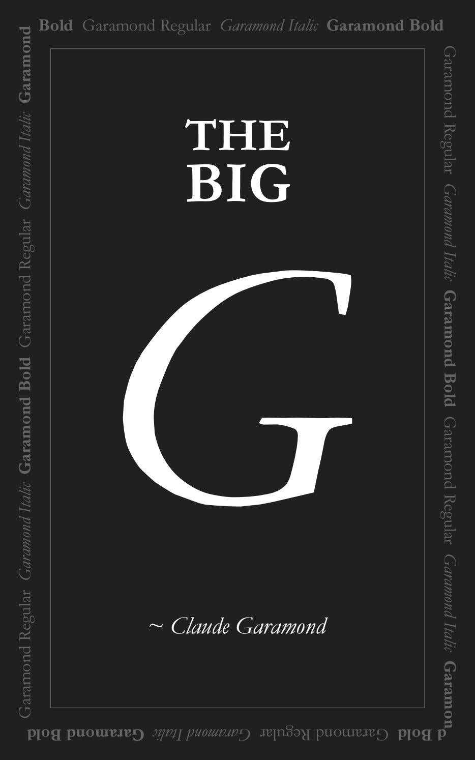 Garamond Bold