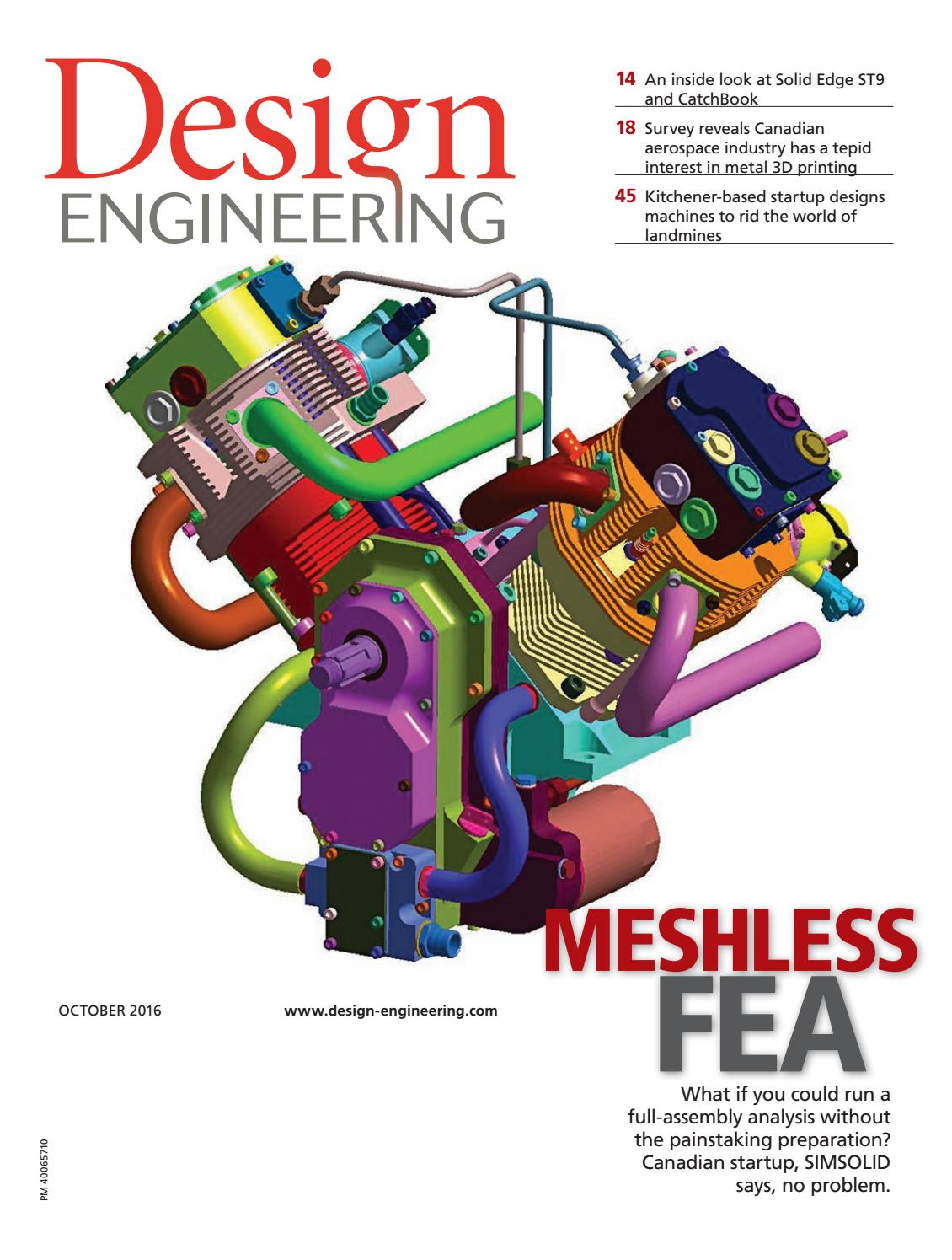 Design Engineering October 2016 By Annex Newcom Lp Issuu Traditional Wiring Method Of An Npn Proximity Sensor Without Using Plc