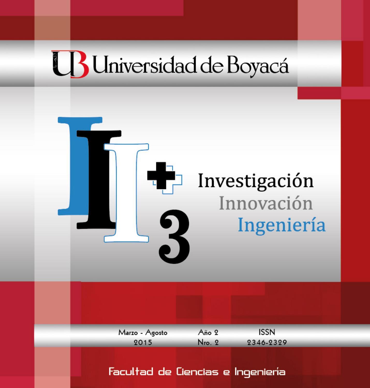 Vol. 2, núm. 2 (2015) by Revista i3 + Investigación Innovación ...