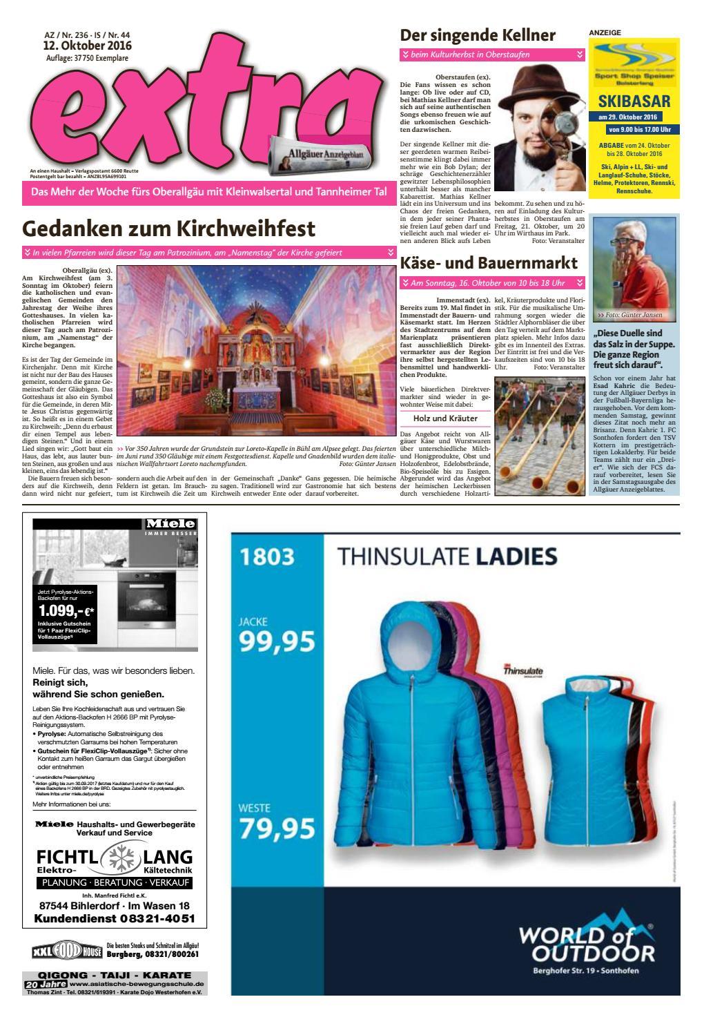 extra Immenstadt vom Mittwoch, 12. Oktober by sign