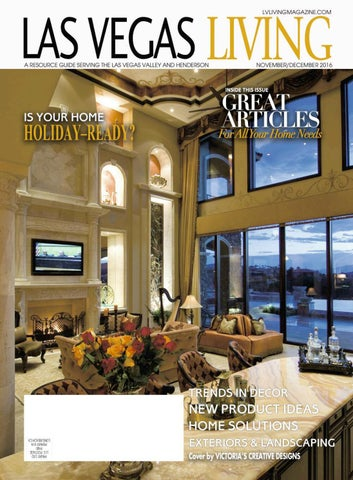Las Vegas Living November December 2016 By Affluent Target