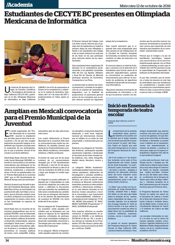 12 Octubre 2016 By Grupo Multimedia Frontera Norte Issuu